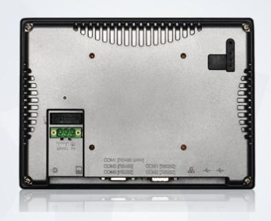 Панель оператора Weintek MT6070iH. Вид сзади