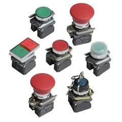 Бюджетные кнопочные переключатели серии LAY4