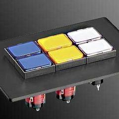 Кнопочные переключатели DUX&Schlegel серии S16